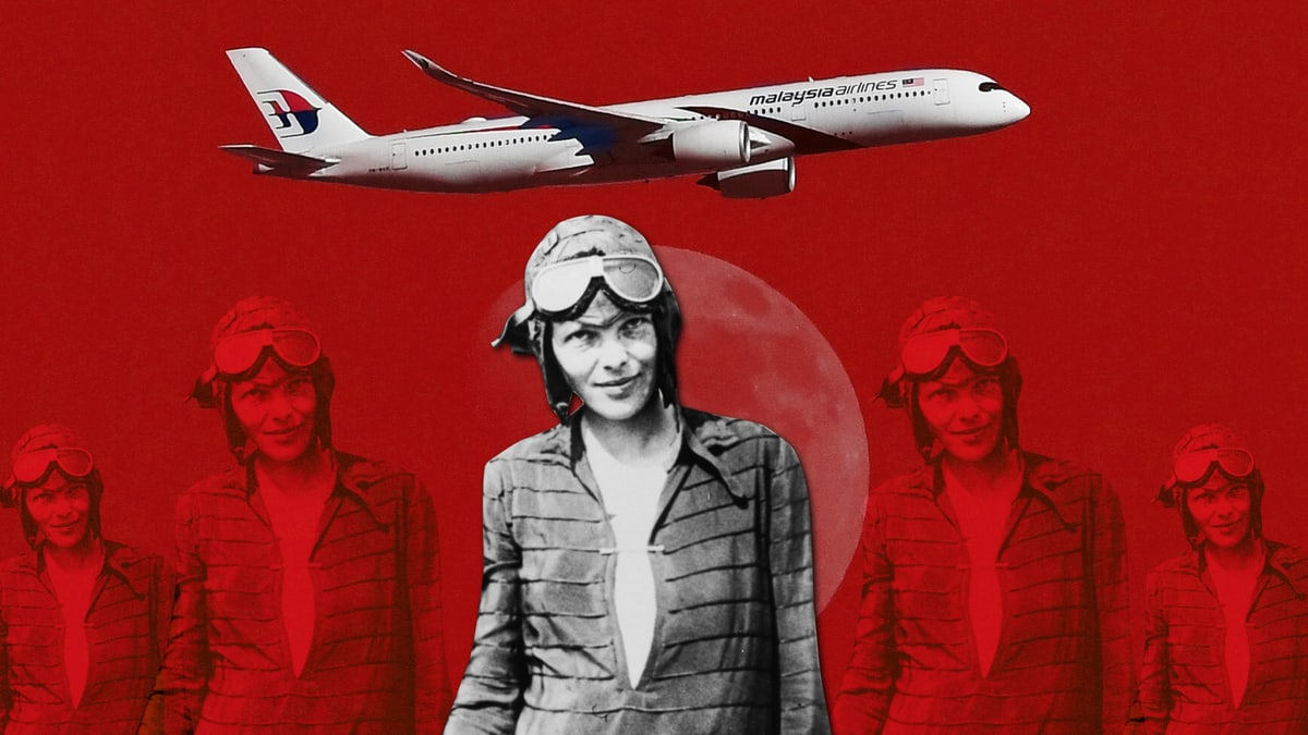 Why Are We Still Searching for Amelia Earhart and Not MH370?