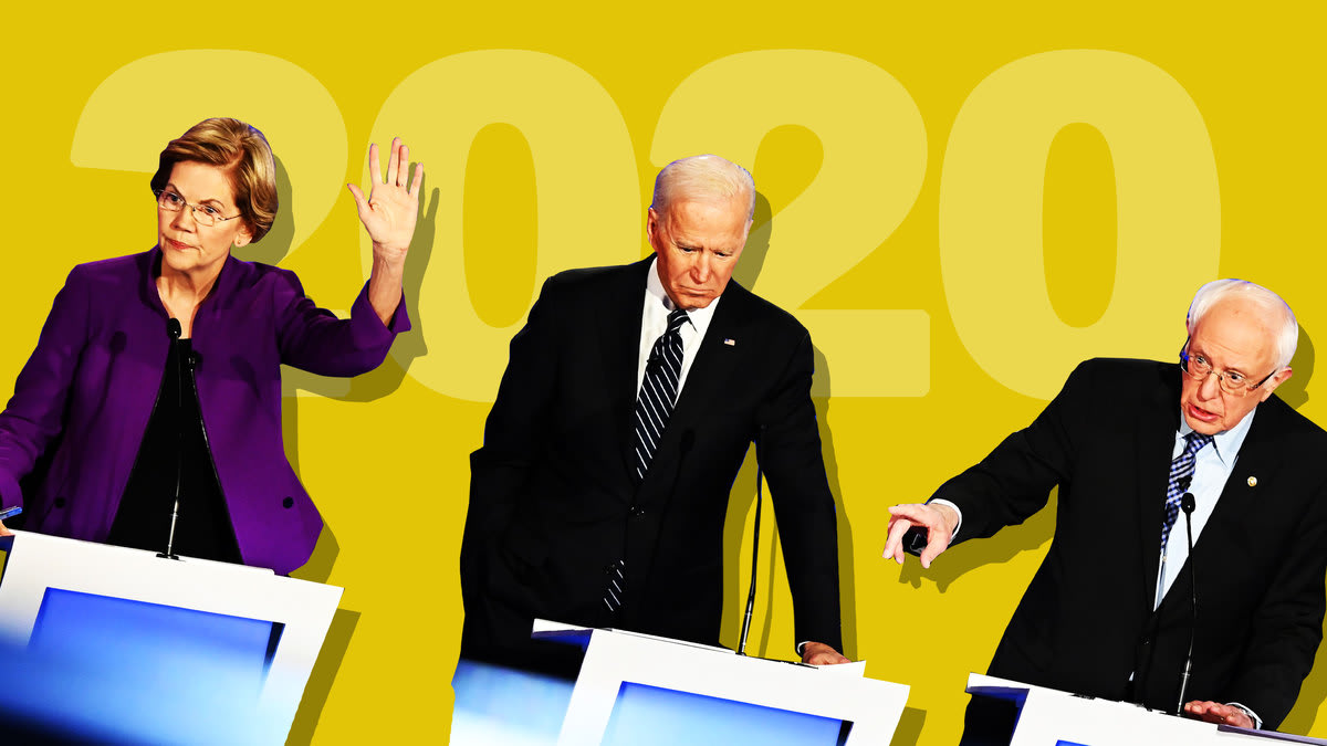 Iowa Democratic Debate Sees 2020 Democrats Suddenly Call Off Their Civil War, Attack Trump Instead
