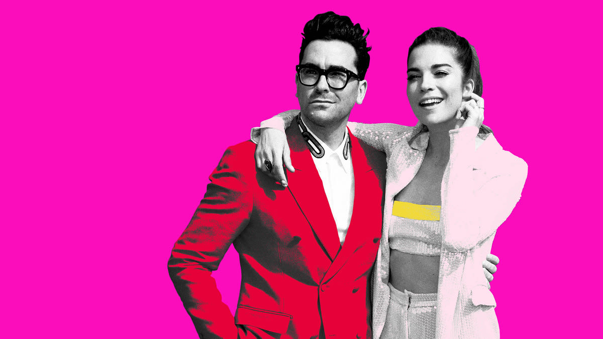 'Schitt's Creek' Stars Daniel Levy and Annie Murphy on Playing TV's Best Siblings