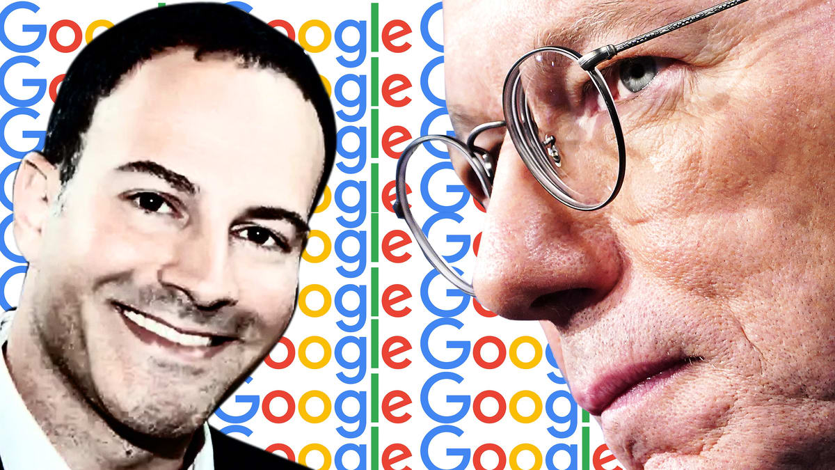 Ex-Google Boss Eric Schmidt's Love Life Exposed by Dirty Hedge Fund War