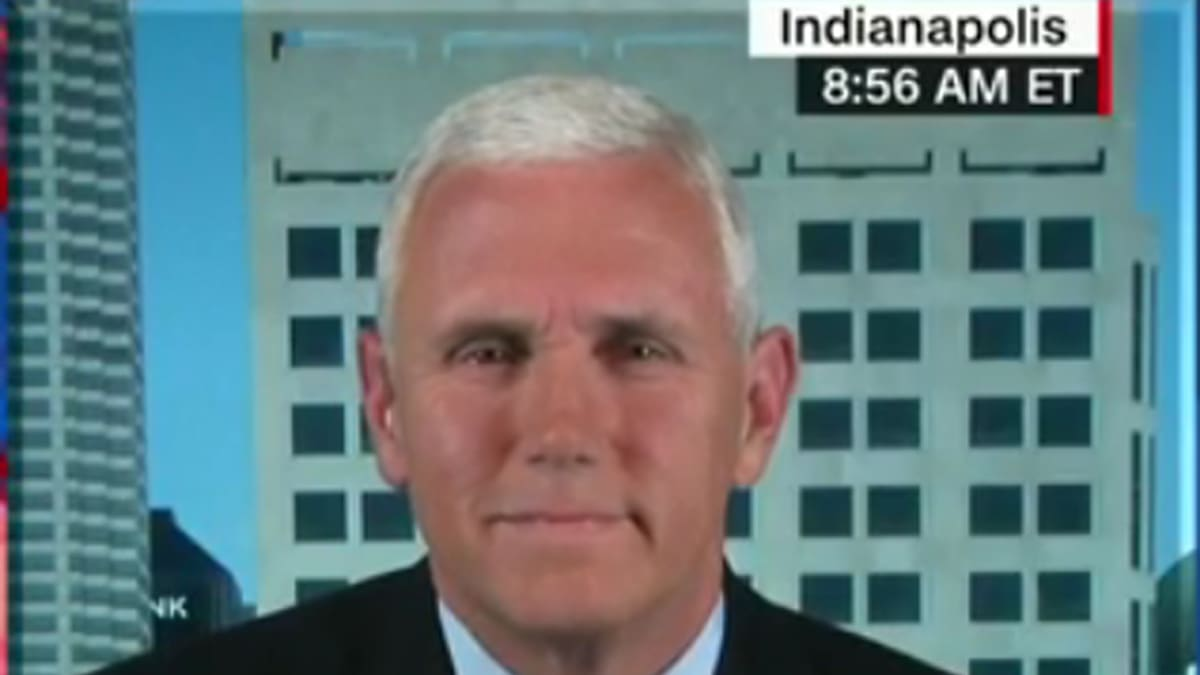 Mike Pence Throws Himself Under Donald Trump S Bus
