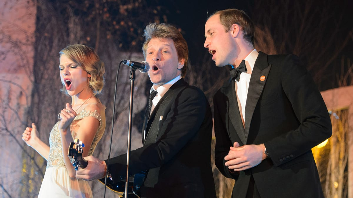 William Stuns Crowd by Bawling Out 'Livin' on a Prayer' with Bon Jovi and Taylor
