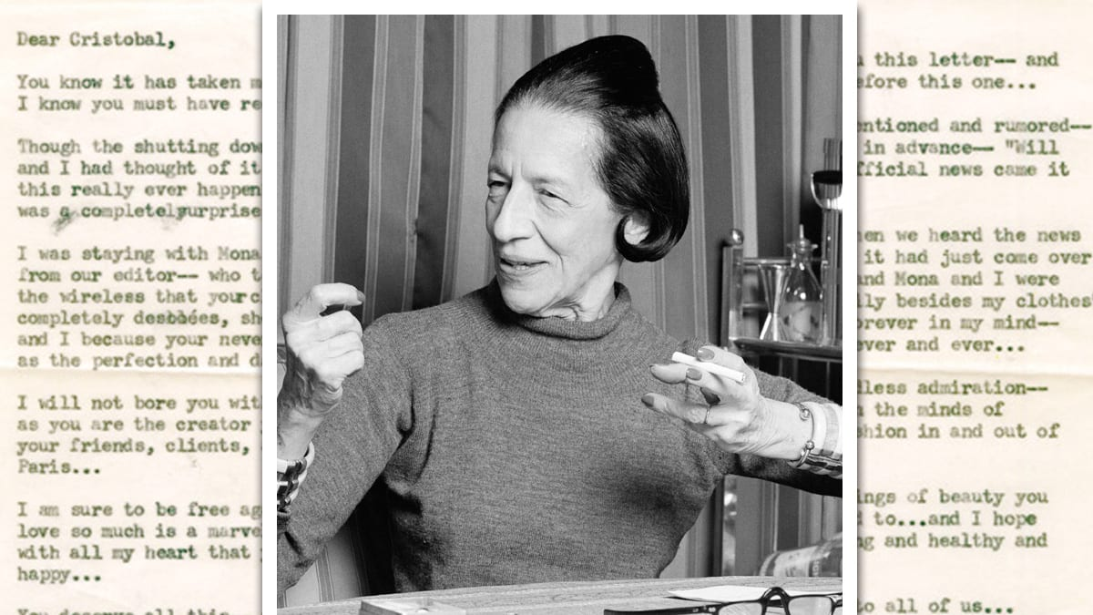 14 Best Quotes From Diana Vreeland's Private Memos