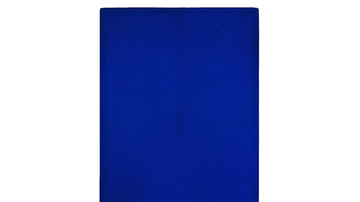 Monotone-Silence Symphony by Yves Klein is the Daily Pic by Blake Gopnik