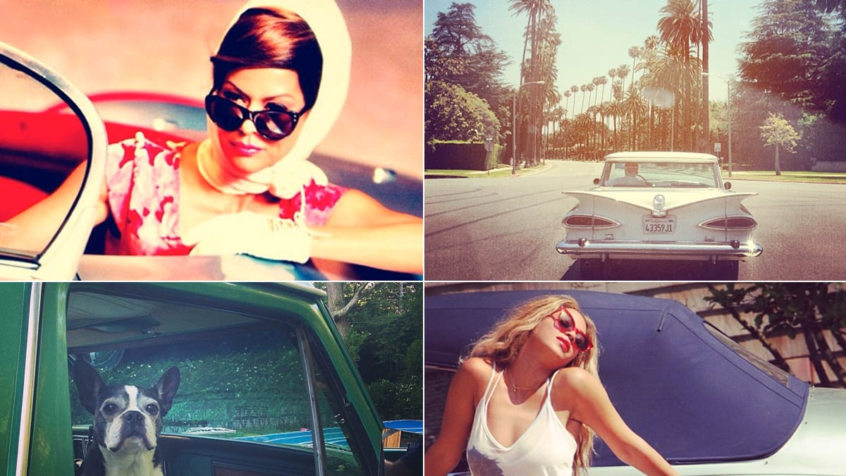 Celebrity Retro Road Trip Instagrams: Beyonce & More (PHOTOS)