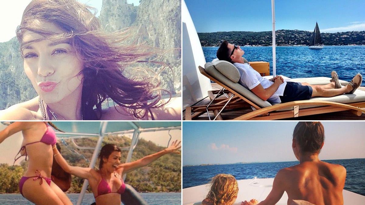 Dakota Fanning, Nicole Richie & More Celebrities on Boat Vacations (Photos)