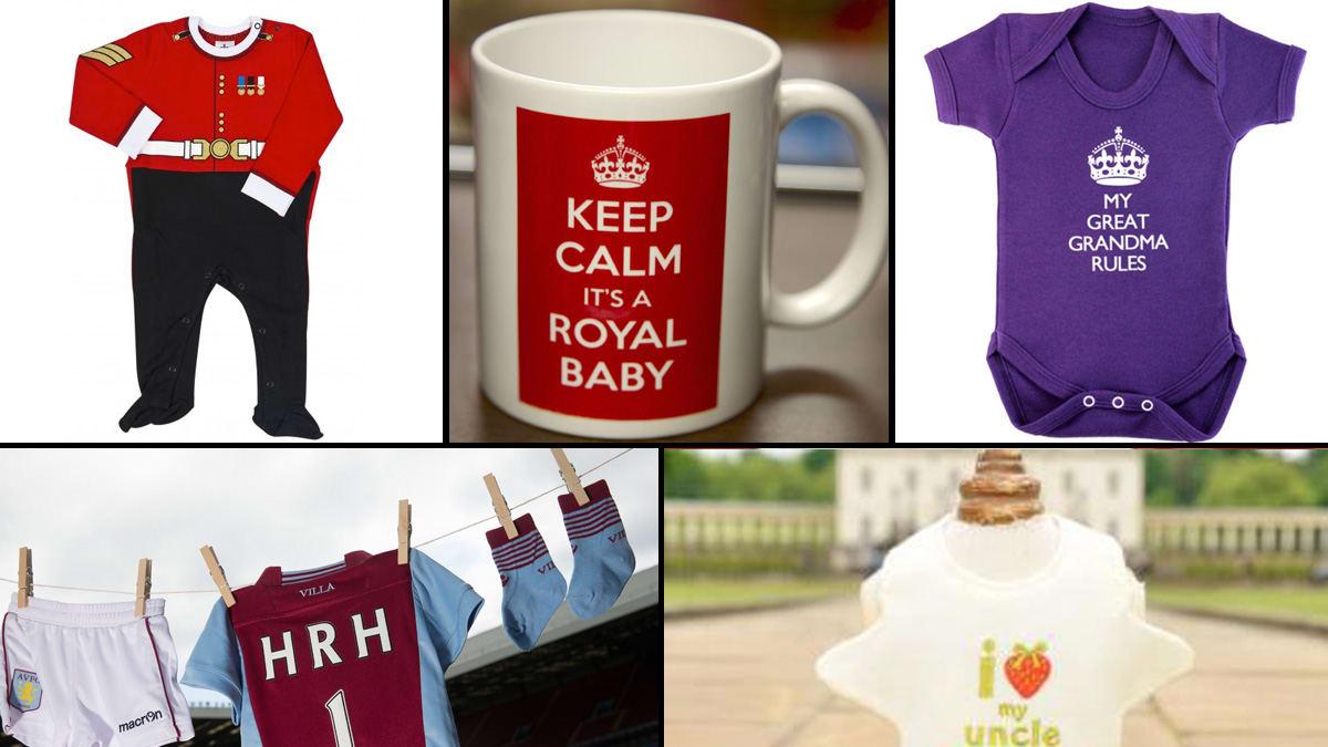 11 Wackiest Royal Baby Items