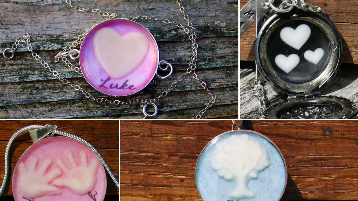 Rhode Island Woman Creates Jewelry Made From Breast Milk-9429
