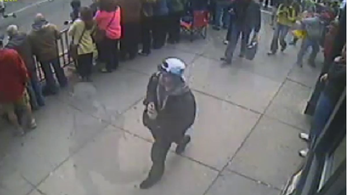 New footage of Boston bombing released as victims relive ...