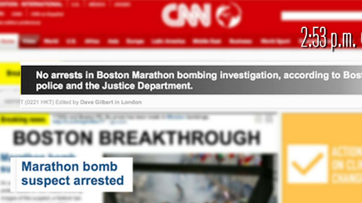 Media Gets Confused Over Boston Bomber