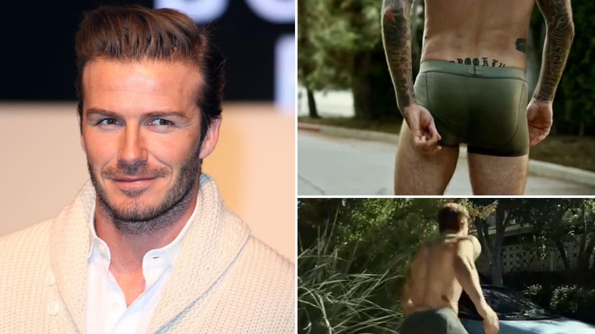 Did Beckham Have A Butt Double