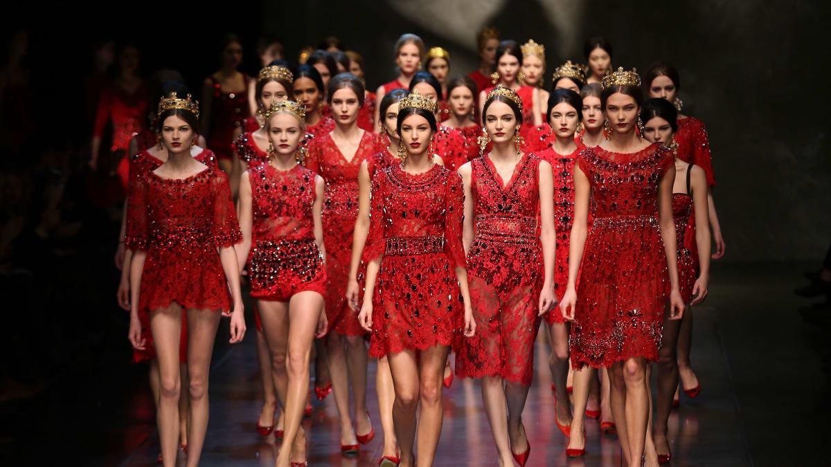 """Dolce & Gabbana Debuts A Little """"Vatican Red"""""""