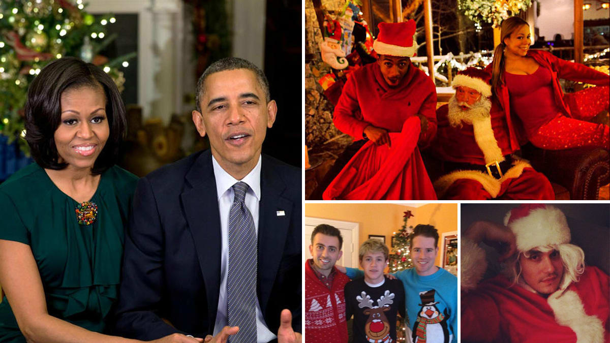 President Obama, Mariah Carey & More Celebrity Christmas Twitter ...