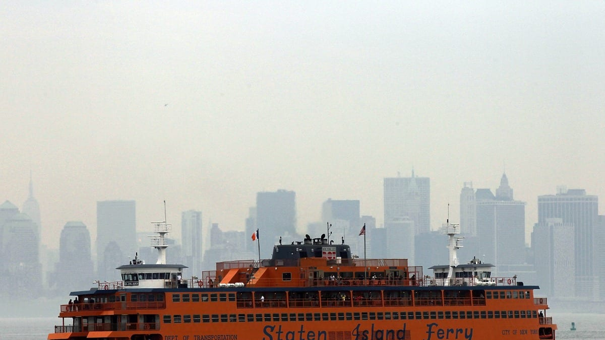 staten island ferry resumes service