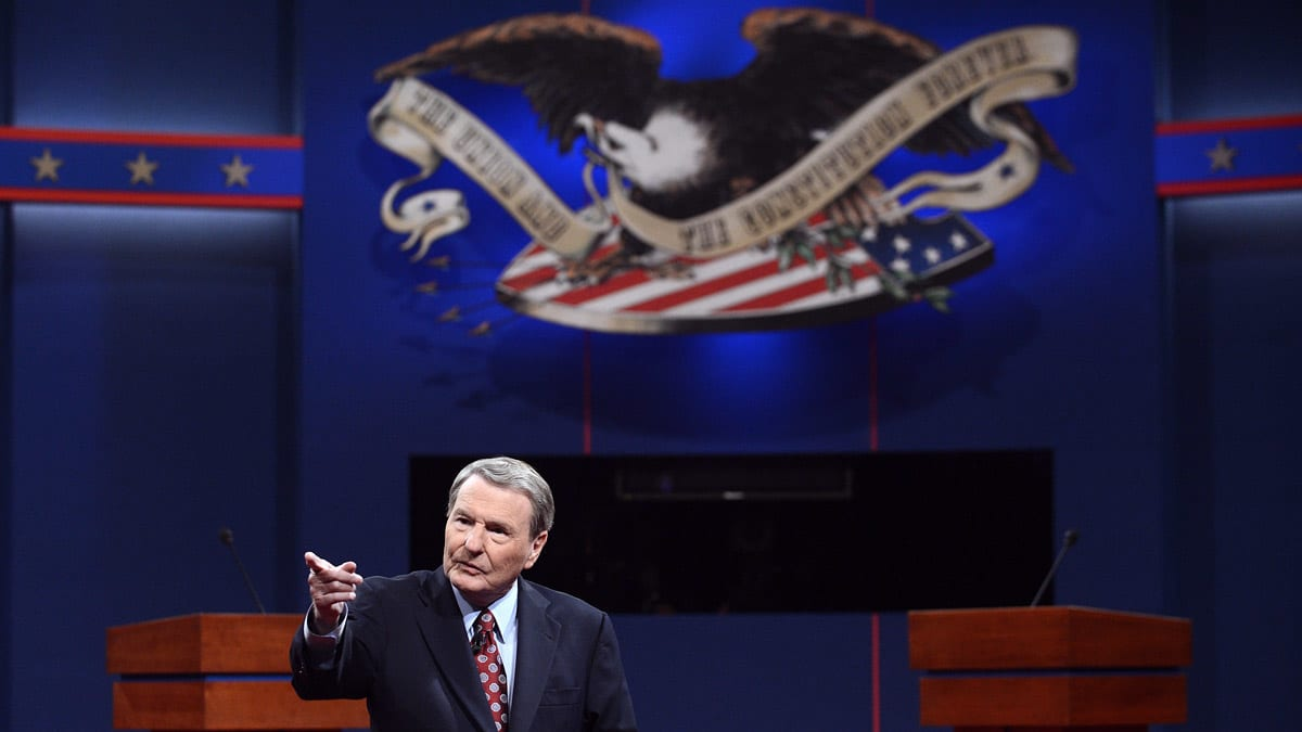 Jim Lehrer: \'I Have No Apologies\' for My Debate Moderator Performance
