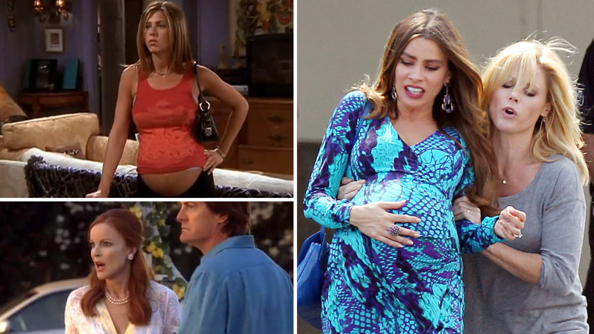 Funny Adult Sexy Video tv's funniest pregnancies: 'modern family,' 'i love lucy