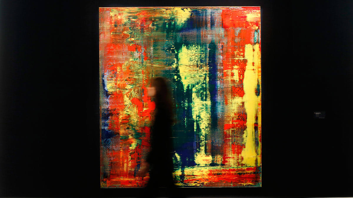 The Wrong Gerhard Richter Painting Broke The Living Artist