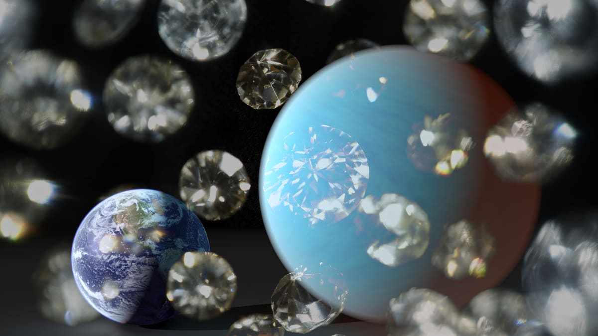 Space Bling: From Diamond Planets to Crystal Oceans to Precious Moon ...