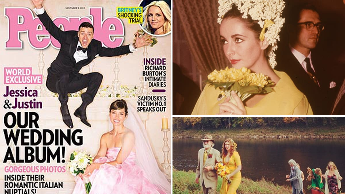 Amber Tamblyn Wedding.Jessica Biel Anne Hathaway More Non White Wedding Dresses Photos