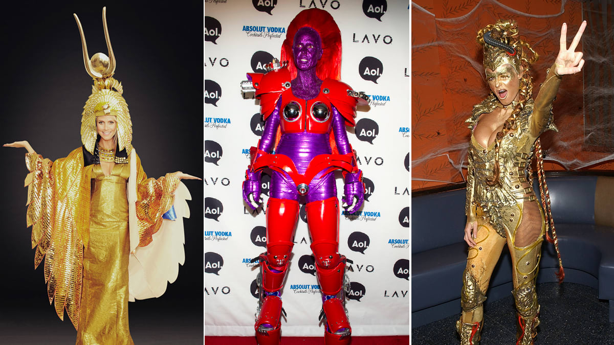 Heidi Klum's 13 Best Halloween Costumes Through the Years (PHOTOS)