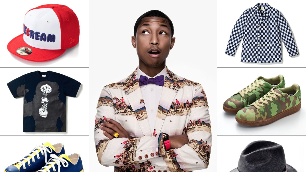the look of pharrell williams from �places amp spaces i�ve