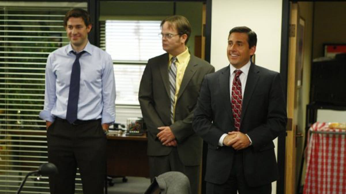 9 funniest moments from season 1 8 of the office video - The office season 9 finale ...