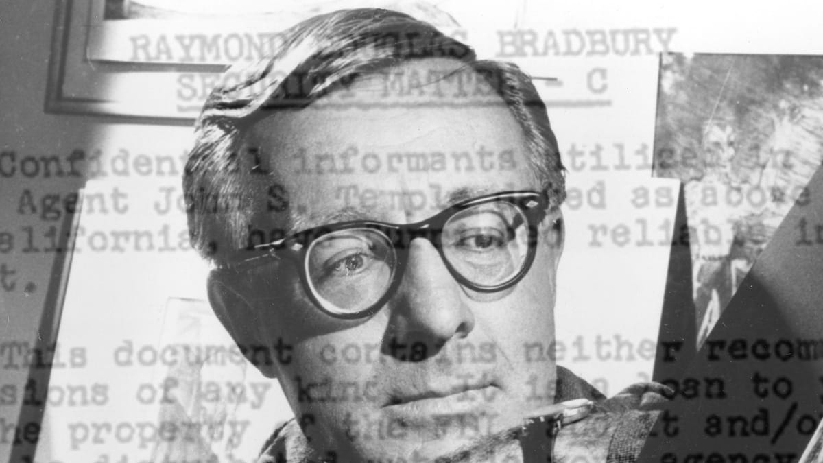 Inside Author Ray Bradbury's FBI File: Was He a Communist Sympathizer?