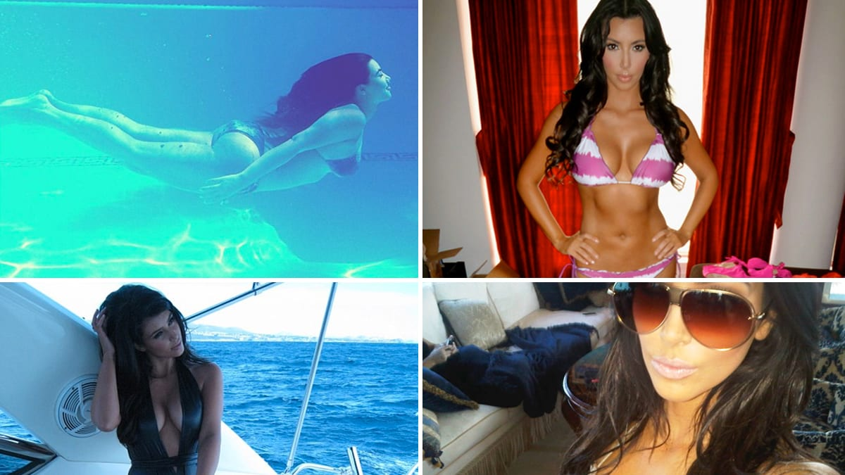 What s up with kim kardashian s bikini shot twitter for What s up with the kardashians