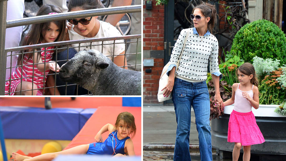 Suri Cruise gets her own zoo for the day