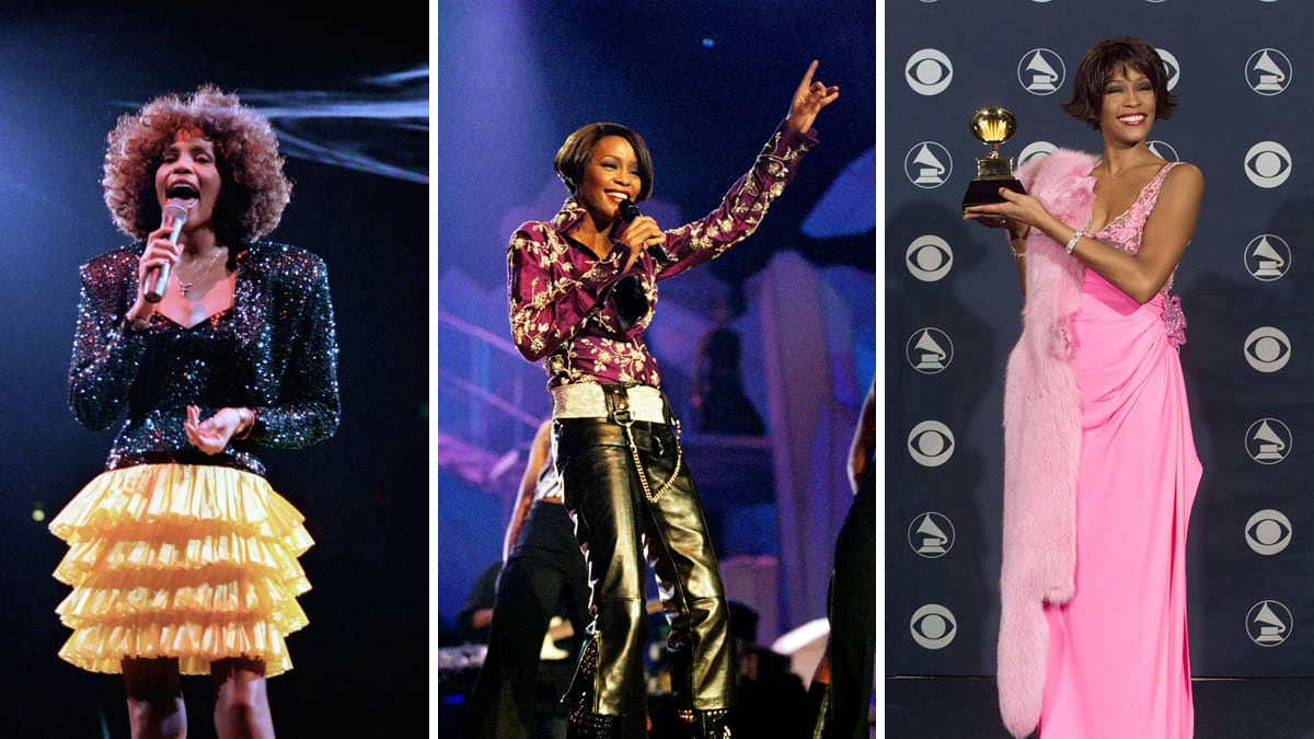 Whitney Houston's Signature Style Looks Over the Years (PHOTOS)