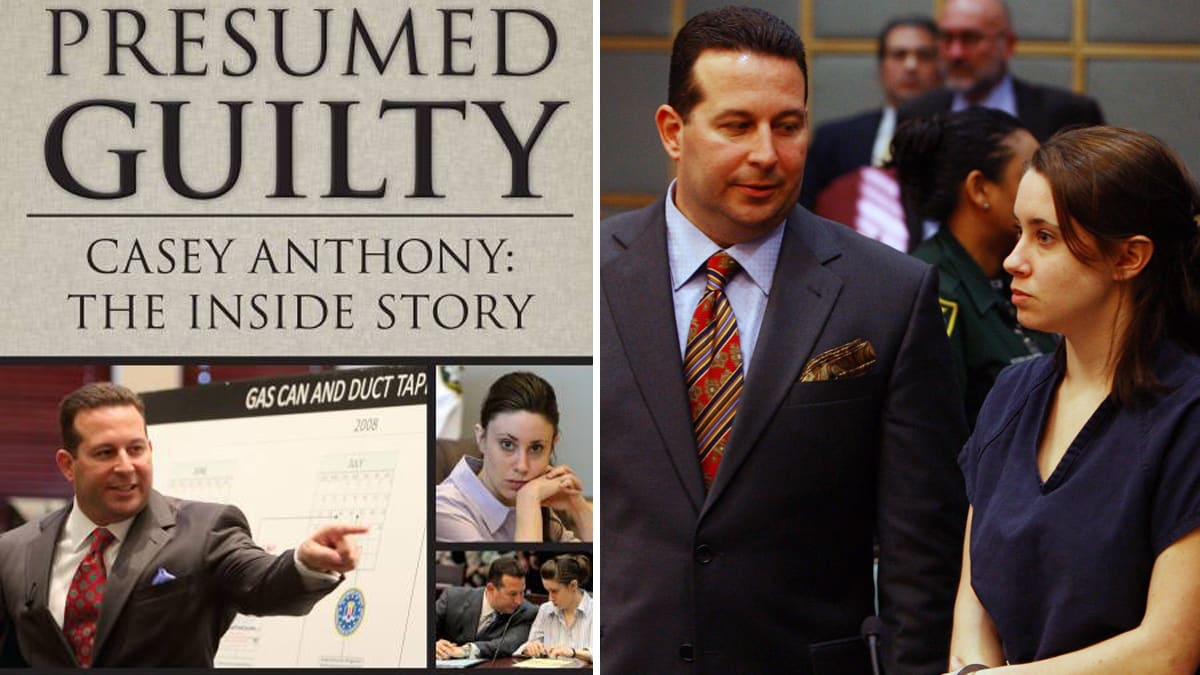 Left: Red Huber, Orlando Sentinel / MCT / Getty Images  Presumed Guilty Book