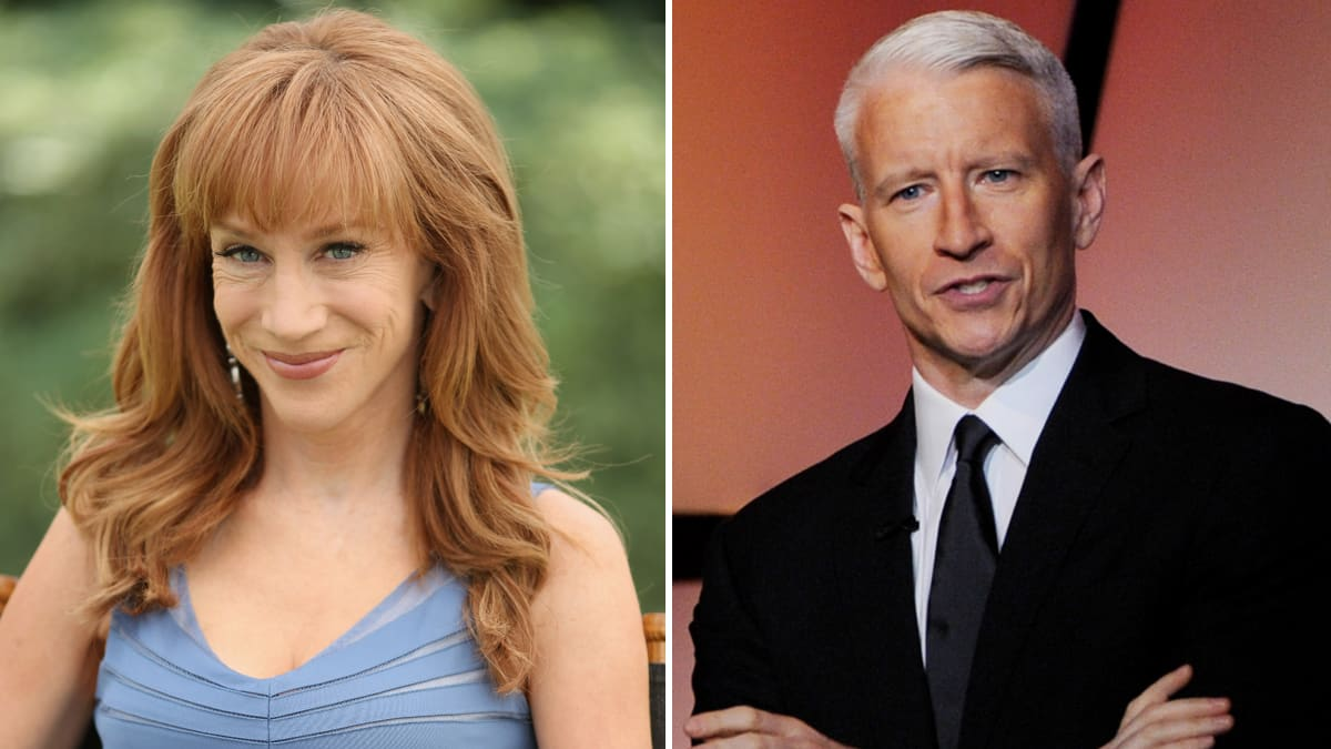 Kathy Griffin I Would Never Have Dreamed Of Outing Anderson Cooper