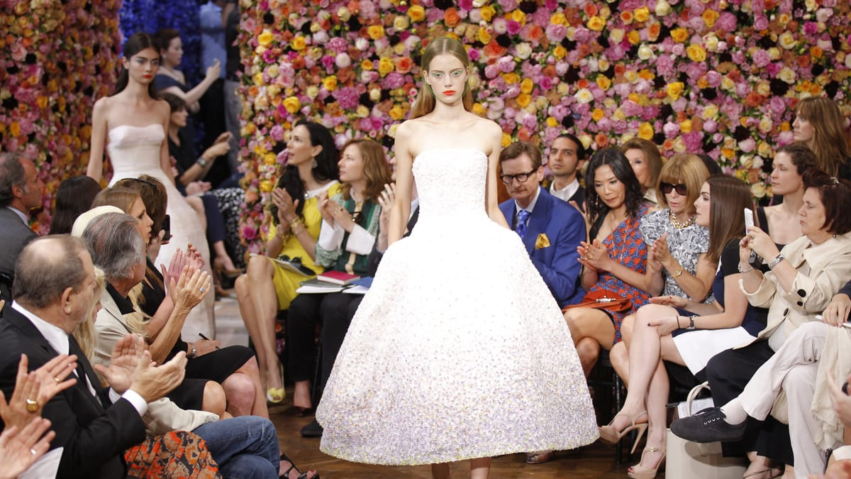 698f12329575 Raf Simons Debuts at Christian Dior With Couture Collection
