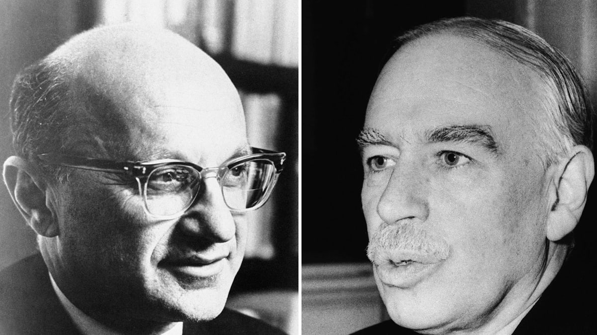 nicholas wapshott a lovefest between milton friedman and j m keynes libertarian hero milton friedman admired the prince of the new deal so says a long lost essay