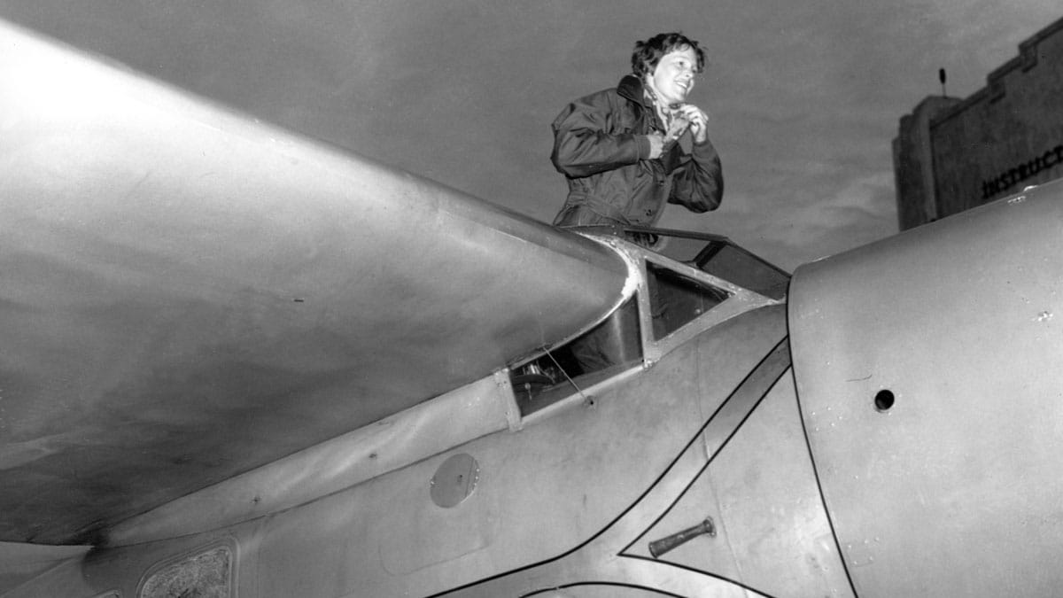 is amelia earhart mystery solved  why the aviator lifts