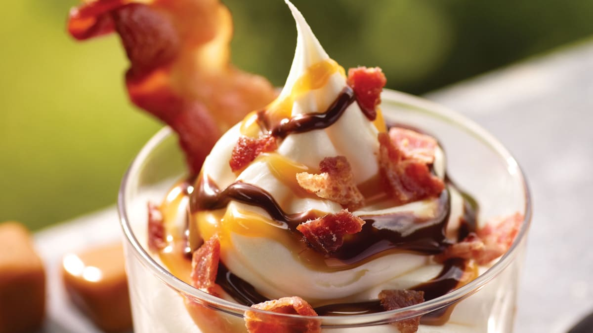 a bacon sundae may sound like a dream combo until you try