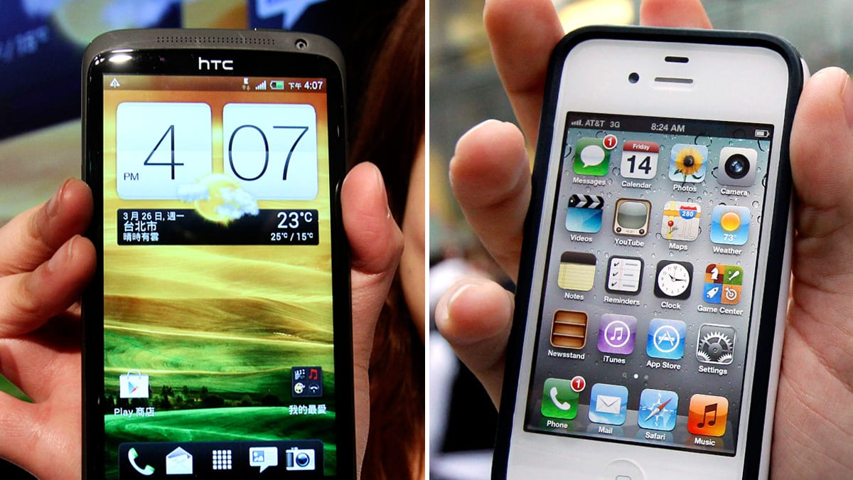 Apple Scores an Android Hit: HTC One X, EVO 4G LTE Held Up at Customs