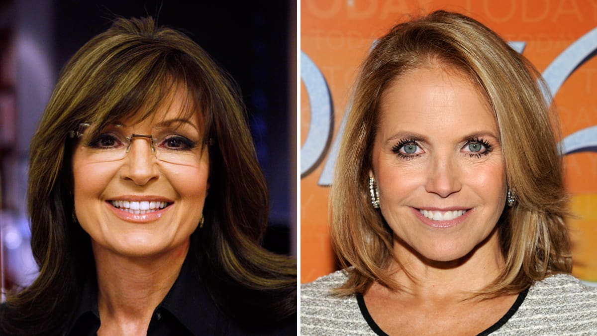 Sarah Palin On Today Vs Katie Couric On Gma Are They