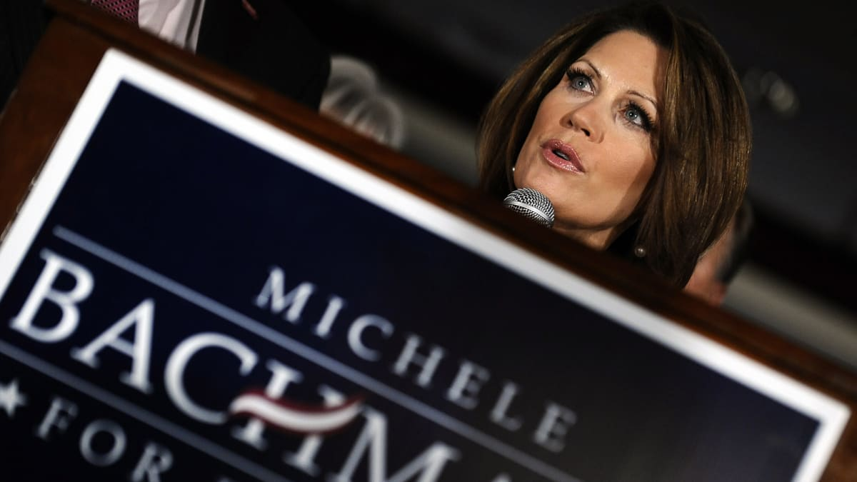 Bachmann's Back: Threesomes Okay, Gays – Not So Much