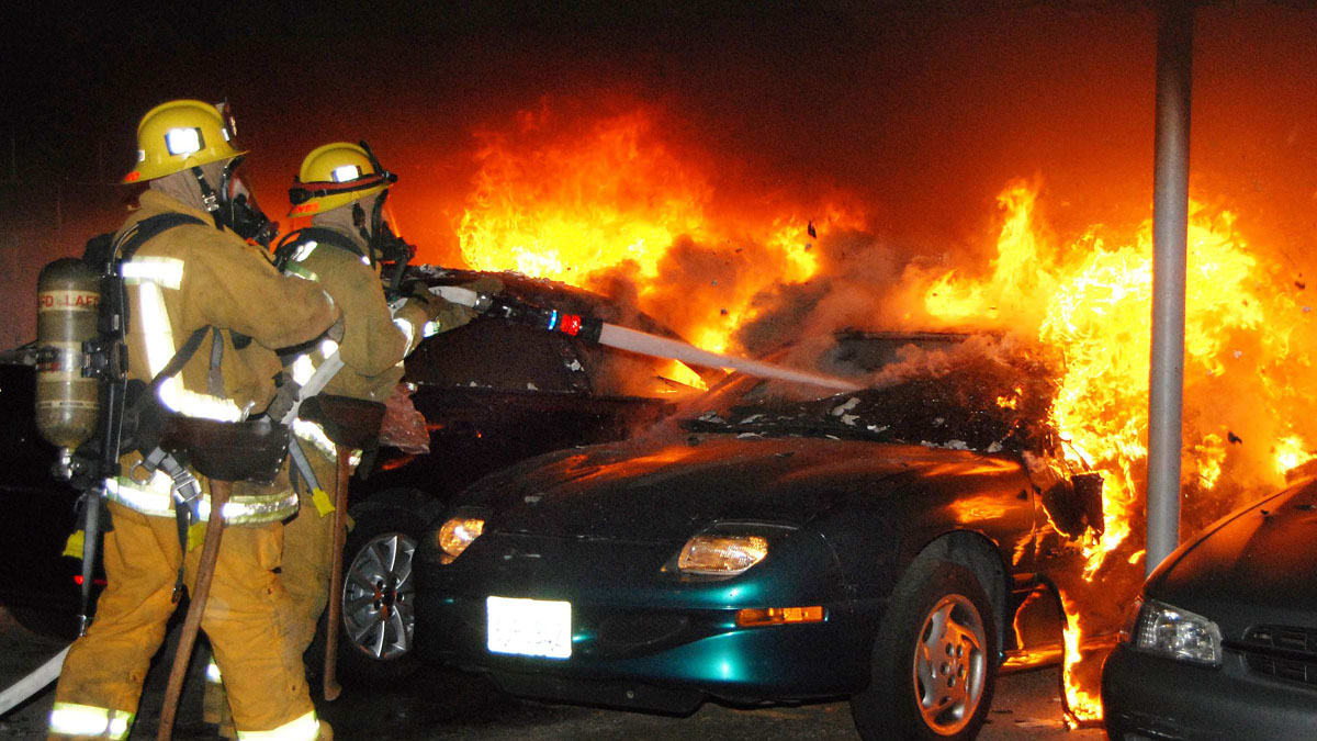 World Tech Auto >> Los Angeles Serial-Arson Suspect Charged
