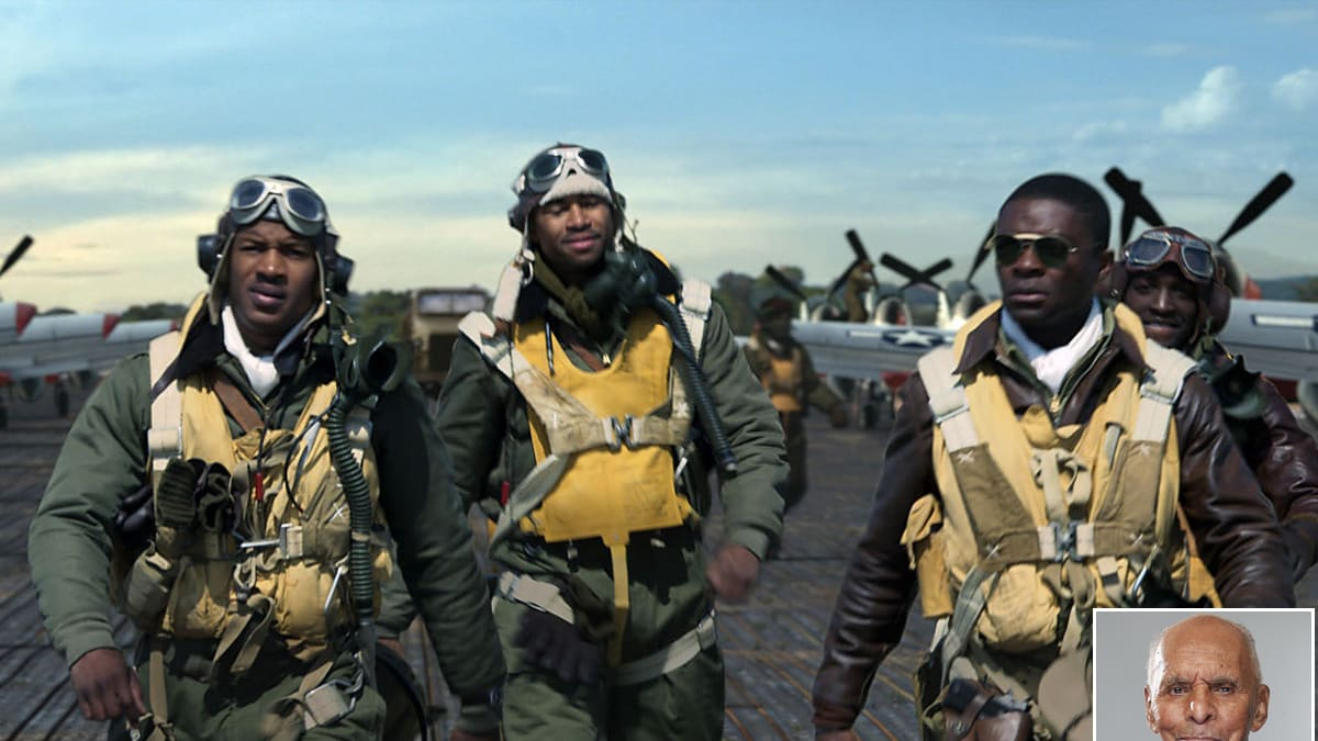 dr roscoe brown a real life tuskegee airman tells his red tails