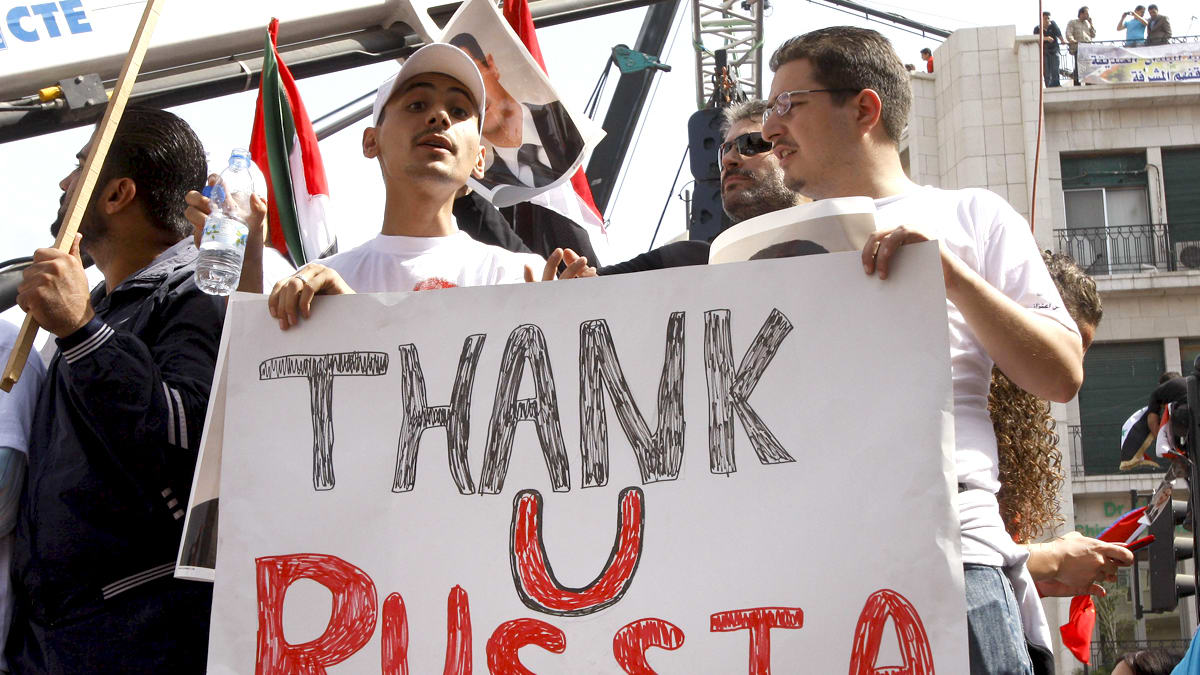 Syria thanks Russia for help