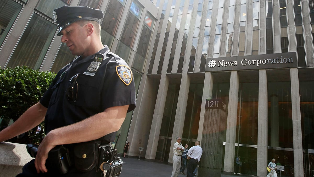 News Detail: NYPD Gives Fox News Special Protection