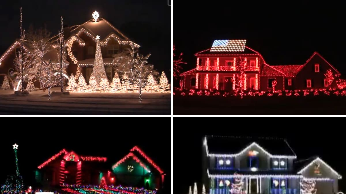 best christmas lights displays starring elvis the grinch more video