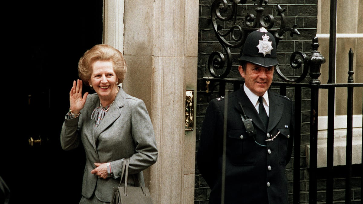 The Language of Margaret Thatcher's Handbags