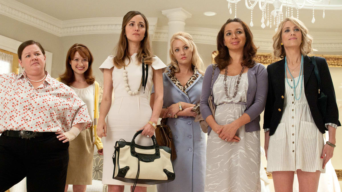 House Bunny Characters regarding could judd apatow and kristen wiig's 'bridesmaids' nab an oscar?