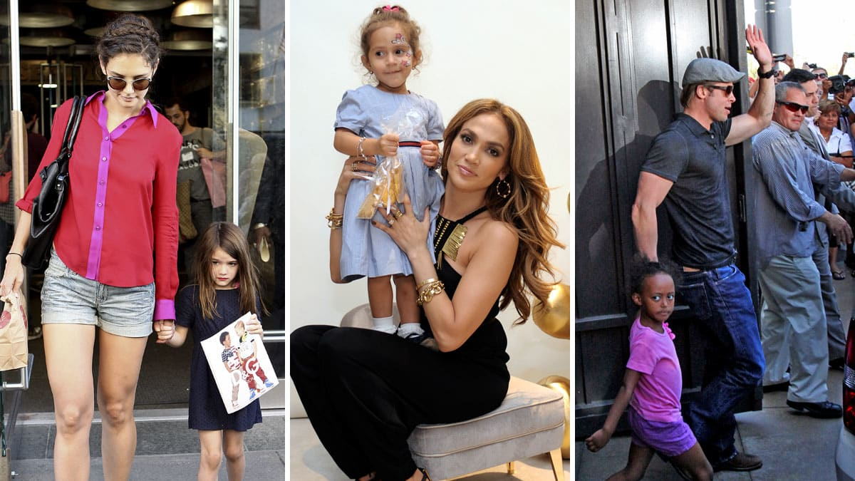 15 Kids Who Look Exactly Like Their Celebrity Parents — PHOTOS