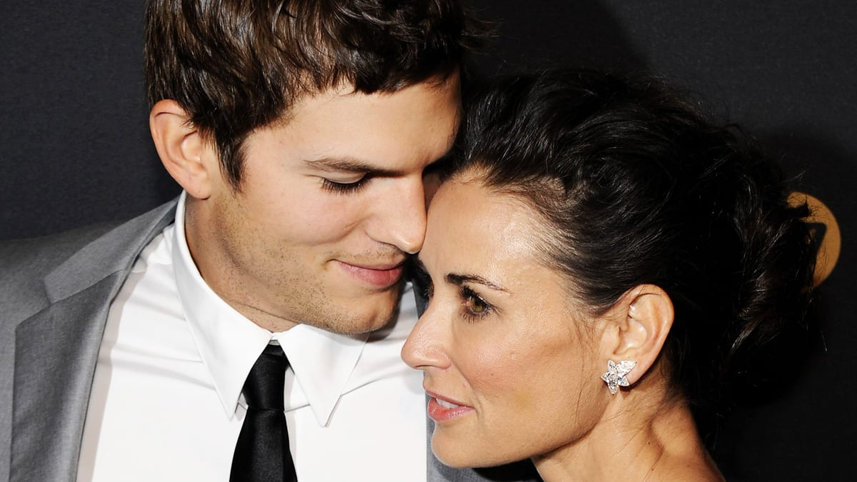 what did demi moore say about ashton kutcher