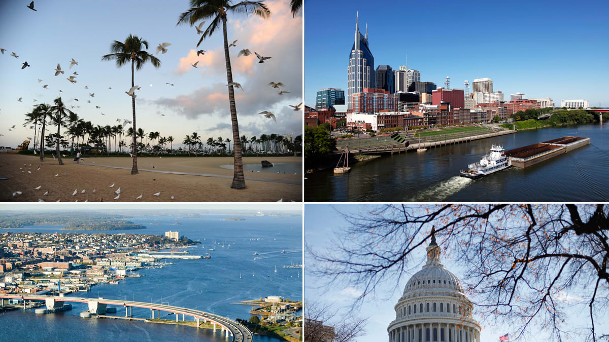 Best cities for single 30 somethings