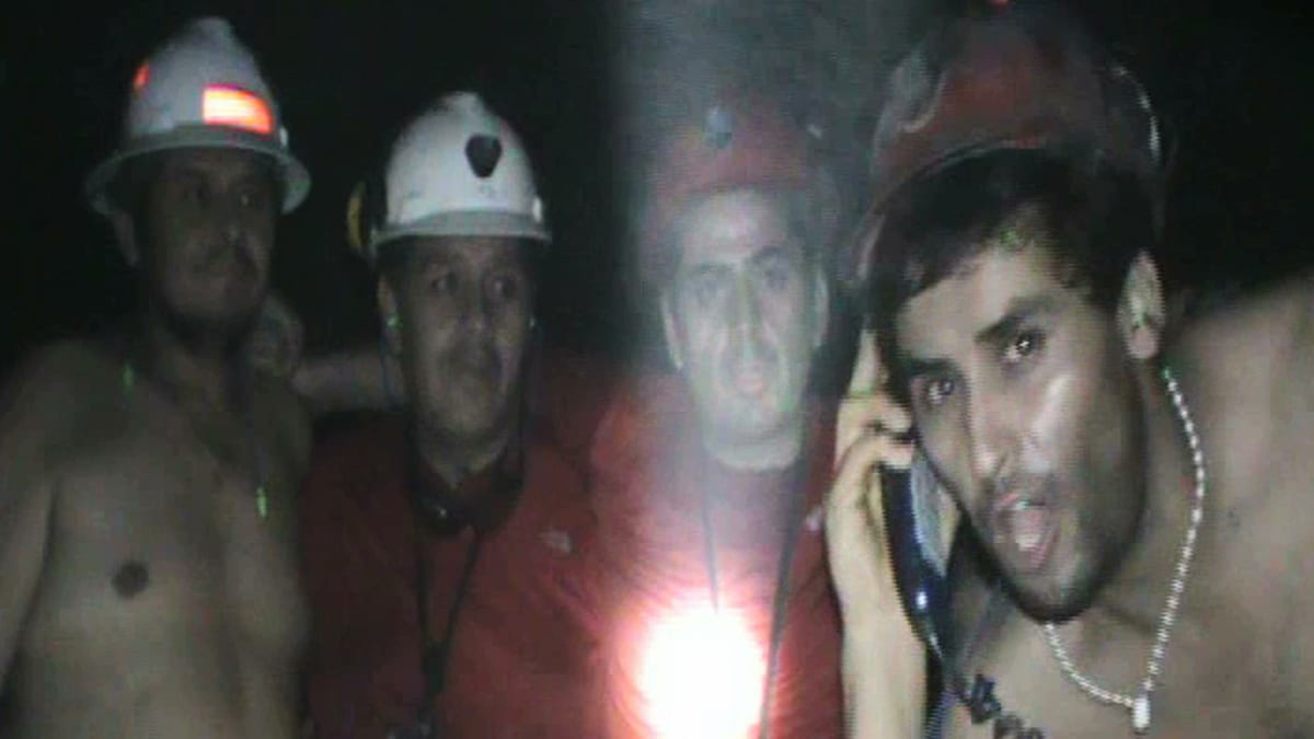 Chilean Miners Fight Their Demons